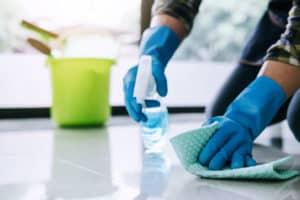 schoonmaak desinfecteren