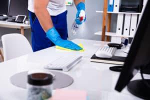 desinfecteren kantoor